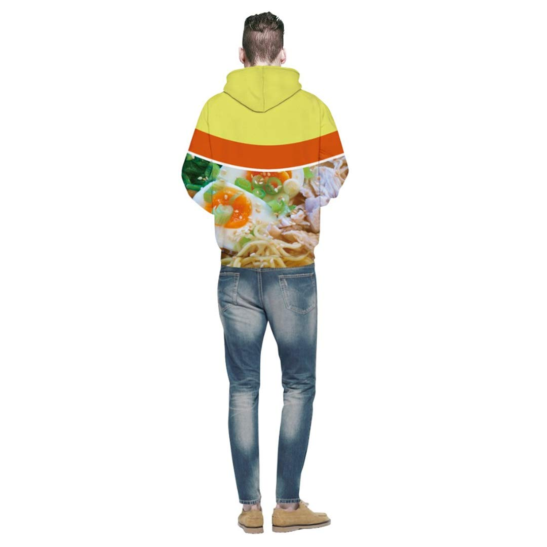 Amazon.com: Ramen Noodle Soup 3D Men Women Hoody Pullover Autumn Tracksuit Hooded Tops: Clothing