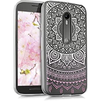 Amazon.com: kwmobile Crystal Case for Motorola Moto G (3 ...