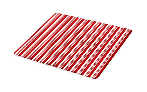 Lunarable Striped Cutting Board, Abstract Vertical Stripes C