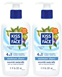 Kiss My Face Vitamin Enriched Moisture Shave with Essential Oils, Fragrance Free - 11 oz - 2 pk