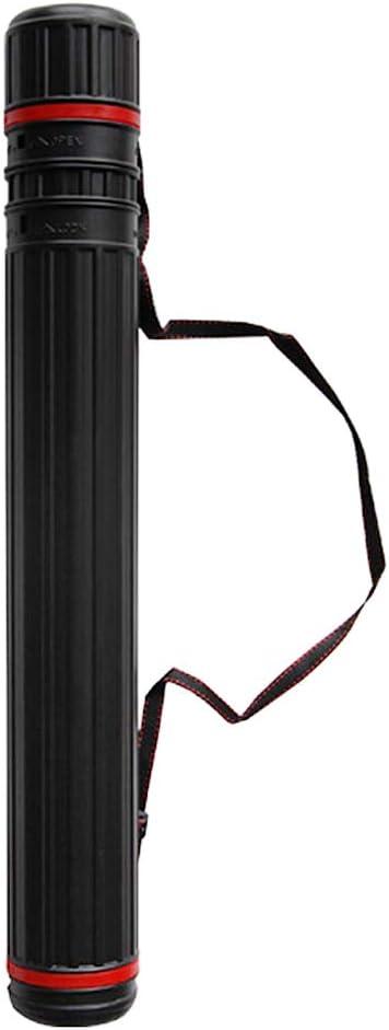 Lixada Tubo de Flecha Telesc/ópico Tiro con Arco Flecha Carcaj con 2 EVA Espuma Soporte de Protecci/ón de Flecha para Arquero