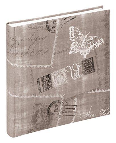 Price comparison product image Walther design FA-222-P Cosenza laminated art paper book bound album,  1175 x 1175 inch (30 x 30 cm),  60 white pages,  brown