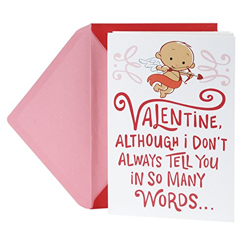 Hallmark Valentine's Day Greeting Card (Cupid with Bow)