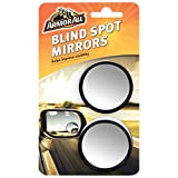 Armor All Blind Spot Mirror 2 Pack Mirrors For Cars SUV Trucks Motorcycle Side View Convex Wide Angle Fish Eye