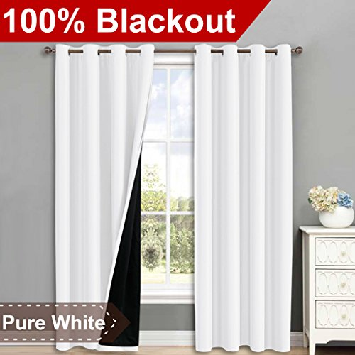 Thing need consider when find blackout curtains 84 inches long white?