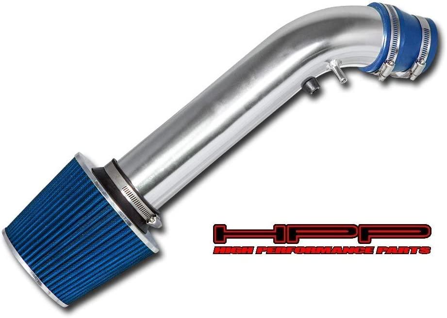 BLUE Cold Air Intake Induction Kit Filter For 96-00 Civic CX//DX//LX 1.6L L4