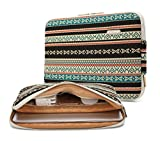 kayond Bohemian Canvas Water-resistant canvas Water-resistant 15.6-17 Inch Laptop Sleeve Case Bag(17 inches, New Bohemian)