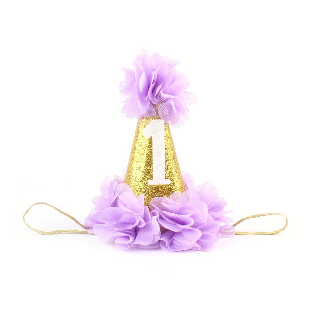 Tinksky赤ちゃん花ヘアアクセサリークラウン1st誕生日パーティー帽子カチューシャプリンセス(パープル) B0757KQVFD B0757KQVFD, 京もの専門店「みやび」:3286f600 --- ijpba.info