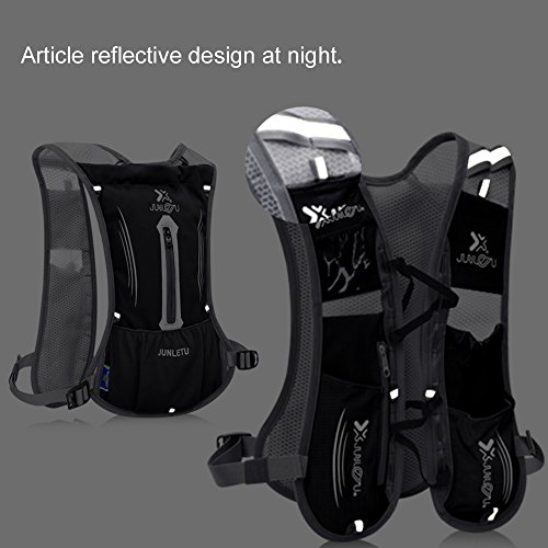 Hydration Pack Backpack HuanLang 2L Lightweight Water Backpack Marathon Running Water Vest with 1.5L Water Bladder for Outdoors Sports Walking Hiking Cycling Climbing Hunting for Men Women Kids