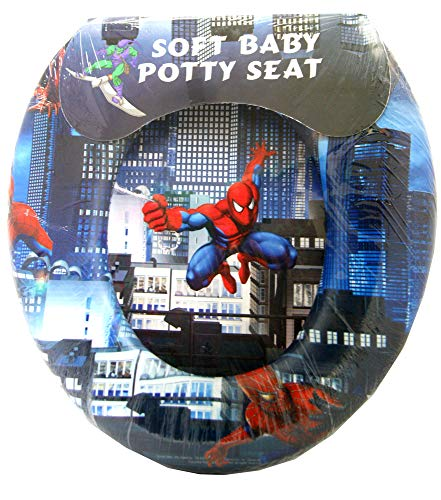 ed Toilet seat (With cartoon characters) (Training Seat) (portable potty) (Spider Man) ()