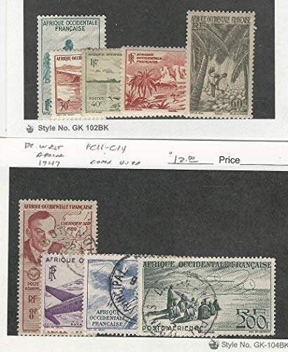 French West Africa Rare Stamps For Philatelists And Other Buyers Megaministore