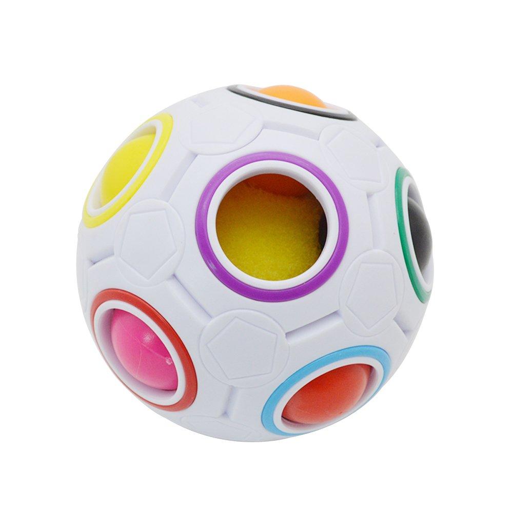 最新な toymytoyレインボーマジックボールインテリジェントな3dパズルスピードキューブBrain B07BLLG5FX Teaser子供大人 B07BLLG5FX, 雑貨屋azarアザール:dd2e3f95 --- a0267596.xsph.ru