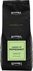 Madura Leaves of Peppermint Loose Leaf Tea in Refill Pouch, 1 x 75 g