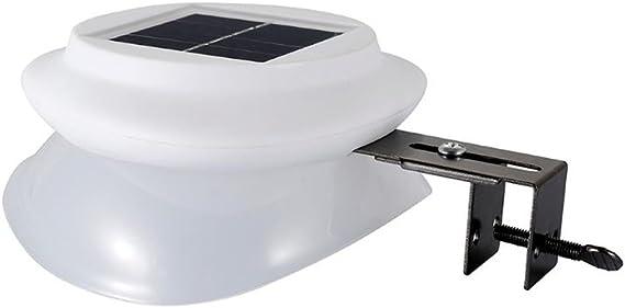 Nueva luz solar portátil al aire libre noche luz fregadero Iluminación exterior césped jardín luces para la luz de la cerca a prueba de agua luces de seguridad (Nerón): Amazon.es: Iluminación
