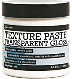 Ranger Texture Paste Transparent Gloss, 3.9 oz