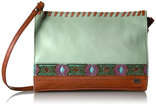 The Sak Iris Clutch, Mint Beaded by The Sak