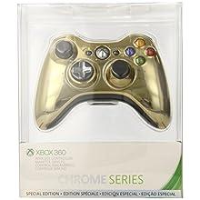 Xbox 360 Wireless Controller - Gold Chrome