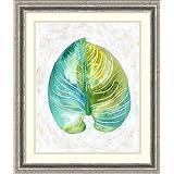 Framed Art Print 'Ocean Side Palms I' by Chariklia Zarris