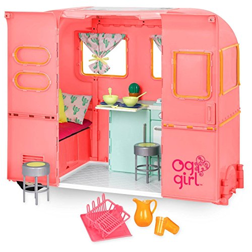 Our Generation RV Camper Pink (18 Inch Doll Rv Camper)
