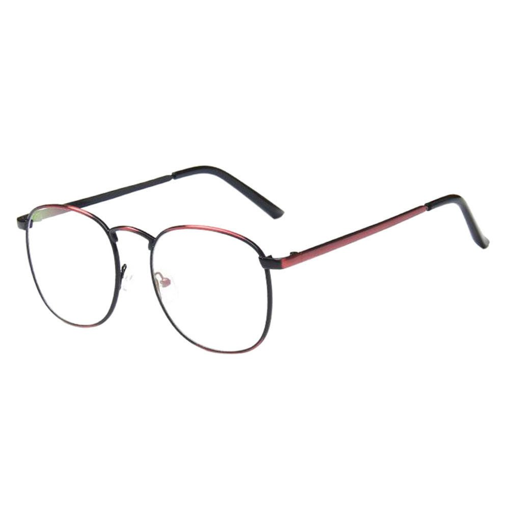 0caef222cca Haodasi Retro Vintage Boys Girls Big Frame Casual Short Sight Myopia  Anti-fatigue Glasses Strength -1.0~-5.0 for Students Teachers (These are  not reading ...