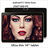 10 inch Tablet PC 4GB ram 64GB rom Octa Core IPS 2560*1600 Dual SIM Android 5.1 Webcam 3G GPS WIFI Tablet PCs Tablets