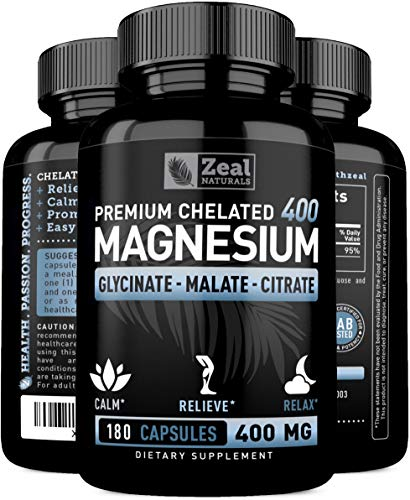 Chelated Magnesium Glycinate Capsules Recovery product image