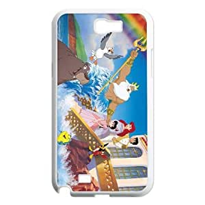 Samsung Galaxy Note 2 White phone case Disney Cartoon Little Mermaid II, The Return to the Sea EYB1351054