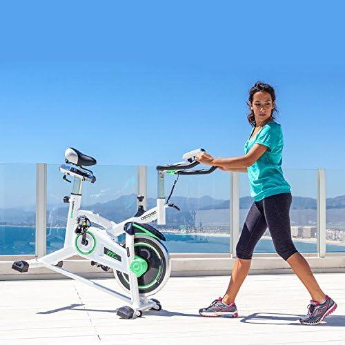 Cecotec Bicicleta Indoor Extreme 25. 25kg Volante inercia, Puls—metro, Pantalla LCD, Resistencia Variable, Estabilizadores, SilenceFit (Extreme 16): Amazon.es: Deportes y aire libre