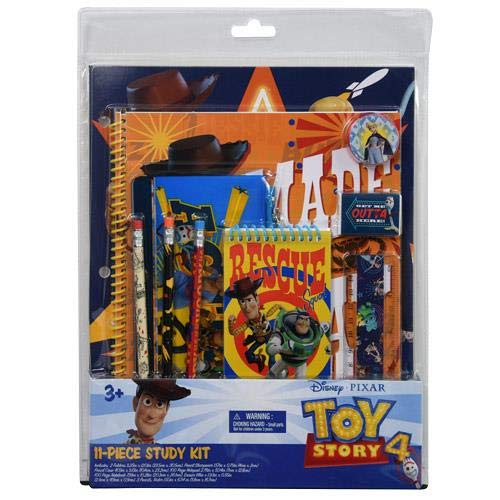 (Toy Story 4 Deluxe 11 Piece Stationery Set)