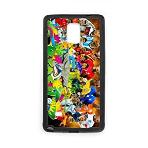 Sports fifa world cup Samsung Galaxy Note 4 Cell Phone Case Black Customized Gift pxr006_5318554