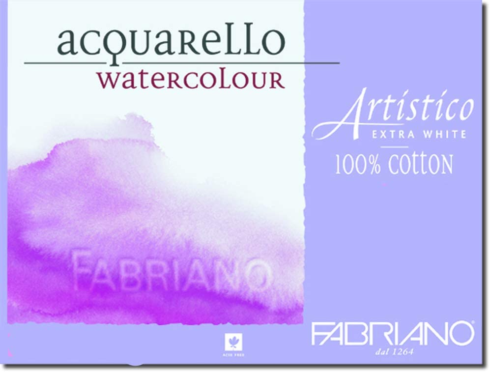 Extra White Hot Press 10-Pack 11x14 Fabriano Artistico 140 lb