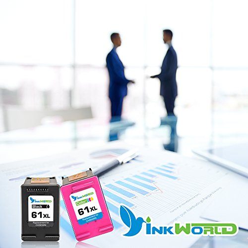 Inkworld Remanufactured Ink Cartridge Replacement for HP 61 HP 61XL Combo High Yield (1 Black, 1 Color) for HP Envy 4500 5530 5534 5535, HP Deskjet 1000 1010 1512 3050, HP Officejet 4630 2620 4632 Photo #6