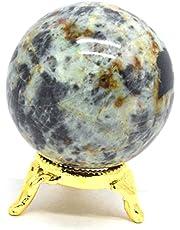 India Natural Gemstone metafísica Aura esfera cristal pulido hermosa bola de 50–60mm