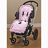 Baby Doll Bedding Heavenly Soft Minky Stroller Covers, Pink