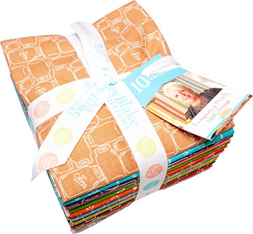 - Lori Holt Farm Girl Vintage Companion Prints 15 Fat Quarters Riley Blake Designs FQ-8740-15