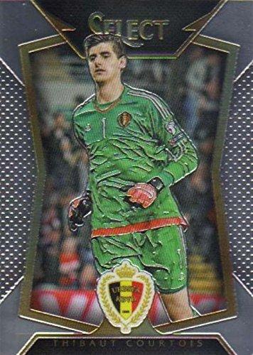 38795f7614c Thibaut Courtois trading card (Goalkeeper
