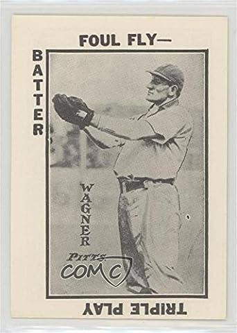 Honus Wagner (Baseball Card) 1973 TCMA 1913 Tom Barker Baseball Card Game Reprint - [Base] #HOWA - 1973 Baseball