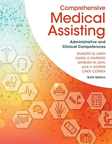 Comprehensive Medical Assisting: Administrative and Clinical Competencies by Delmar Cengage Learning
