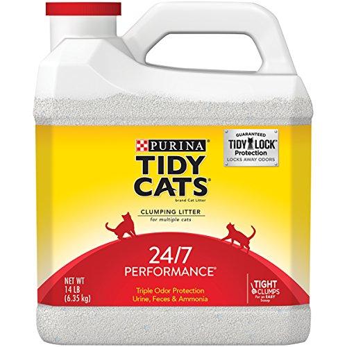 Purina Tidy Cats 24/7 Performance Cat Litter - (1) 14 lb. Jug