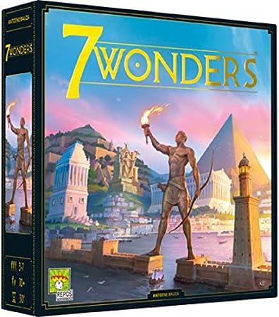 JEU 7 Wonders: Amazon.es: Juguetes y juegos