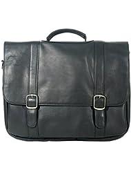 Millennium Leather Vaqueta Napa Deluxe Flapover Computer Case