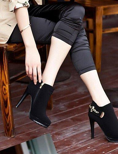 Korean Schuhe Sexy Stiletto Stiefelletten Absatz Damen Beute Stiefel Damen Citior wxXBqRa