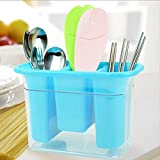 $14.04Plastic Utensils Holder For Kitchen Dining,3-Compartment Drainer, Flatware/Silverware Holder With Plastic Tray Set,Dishwasher Safe Caddy Storage Organizer For Spoons, Knives, Forks, Chopsticks Shakers