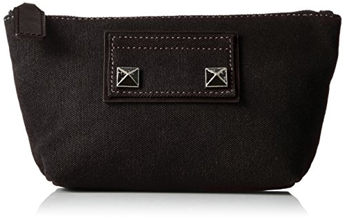 Marc Jacobs Trapezoid Canvas Chipped Studs Bag, Black by Marc Jacobs