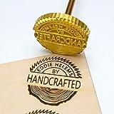 Custom Logo Wood Branding Iron,Durable Leather
