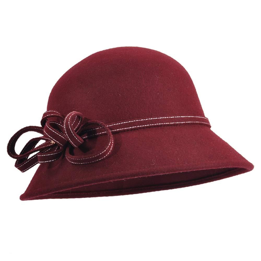 高品質 GLJF 幅の広い帽子 B07JWHTQ2R、女性のイギリスのレトロ流域の帽子秋と冬の大きな帽子のキャップ小さな帽子 (色 (色 : Green) Red B07JWHTQ2R Red Red, トモエ堂:a90906a2 --- svecha37.ru
