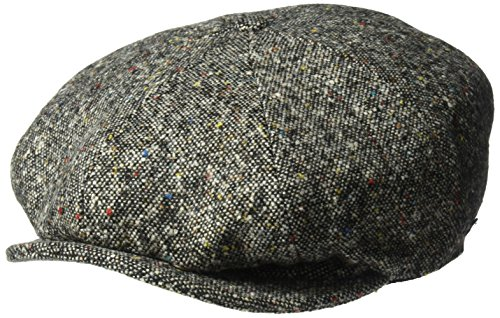 Kangol Men's Tweed Ripley, Black Marl, M by Kangol