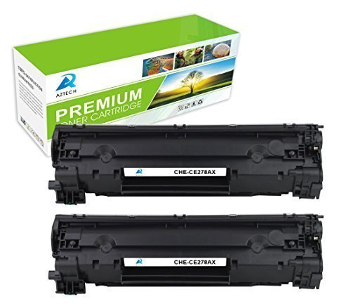 AZTECH 2 Pack 3,000 Page High Yield Compatible HP 78X CE278X CE278 Toner Cartridge Replaces For HP LaserJet Pro P1606DN P1606 P1566 P1560 M1536 MFP M1536DNF Printer