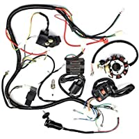 Complete Wiring Harness kit Wire loom Electrics Stator...