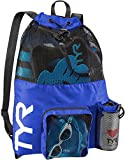 TYR Big Mesh Mummy Backpack, Royal, One Size